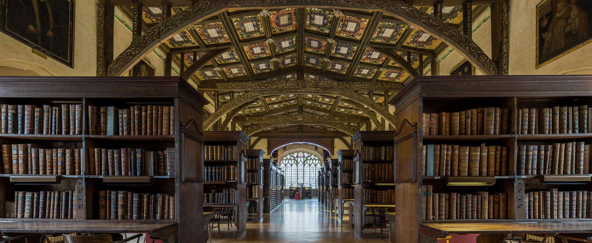 Bodleian Library: Hogwarts Library and Infirmary