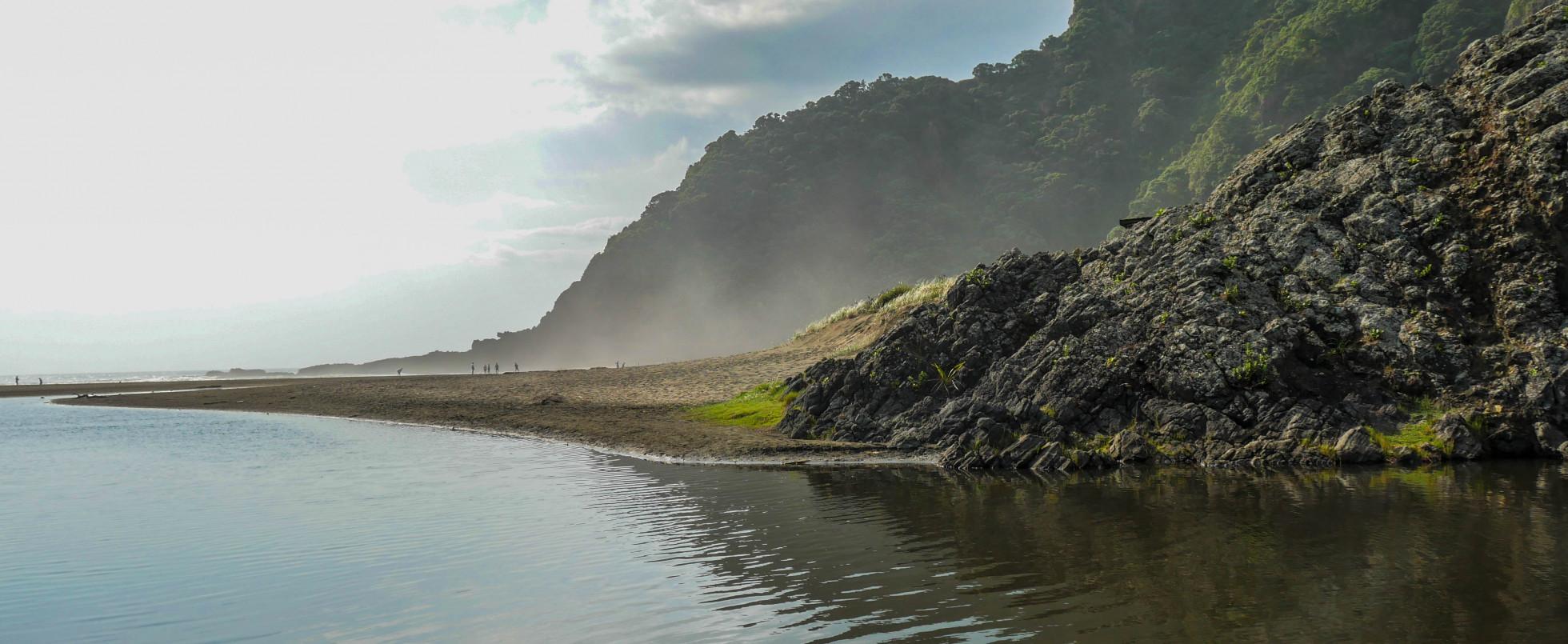 Karekare Beach, New Zealand: The Piano