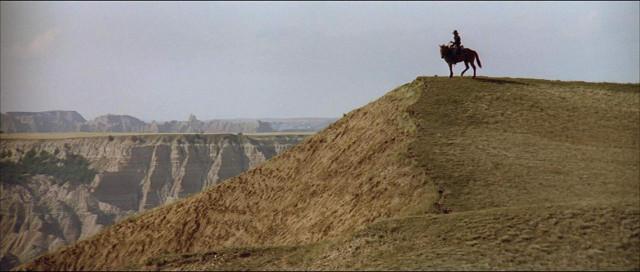John Dunbar overlooking the Badlands.