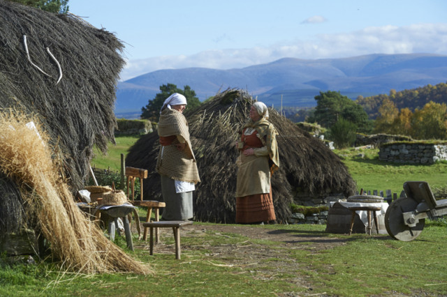 The museum's living history approach gives visitors a real insight to the living and working conditions of the Highlands in the past.