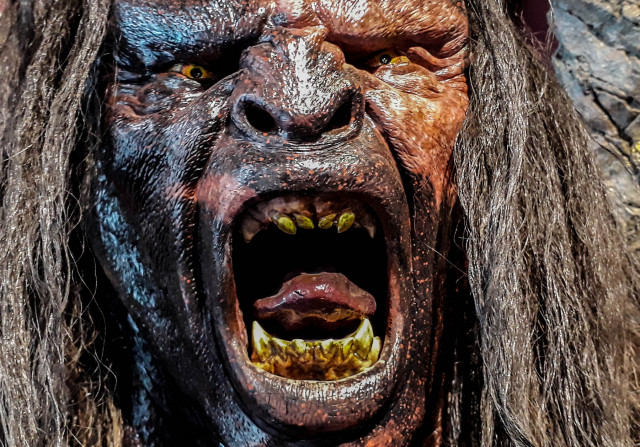 Pickpockets beware: The Weta Cave has a pretty scary watchdog (called Lurtz).