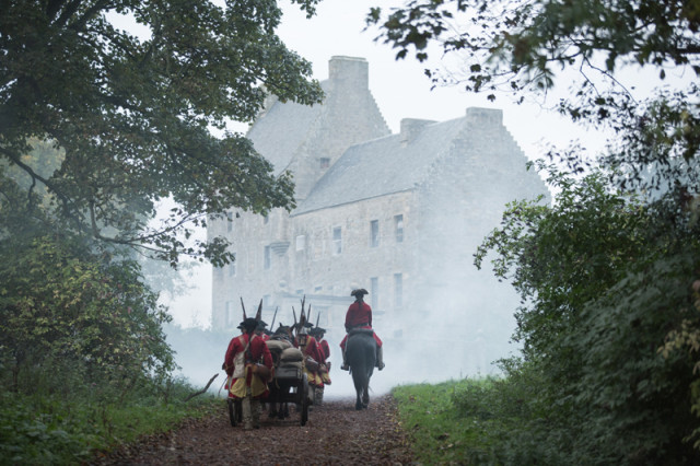 The Redcoats are never far behind.
