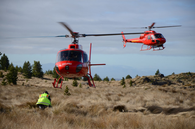 Having a helicopter at your disposal certainly helps to record and store those visual assets!