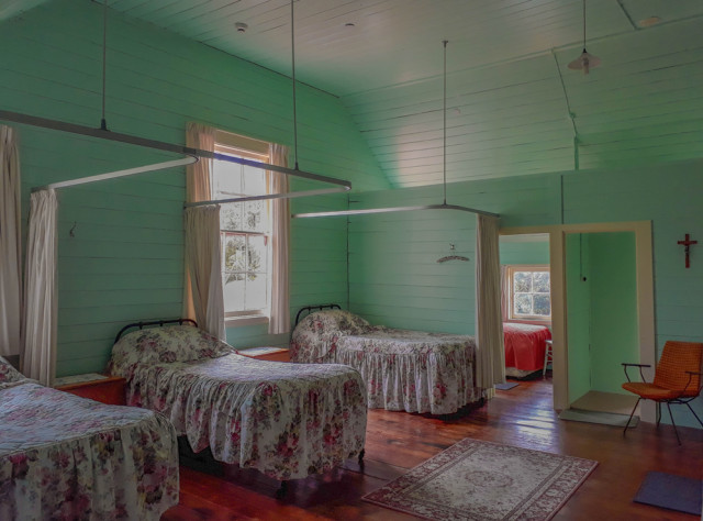 """The old convent offersaccommodation for groups and retreats. Lee Williams loves the atmosphere in and around Hiruhārama """"because it's healing""""."""