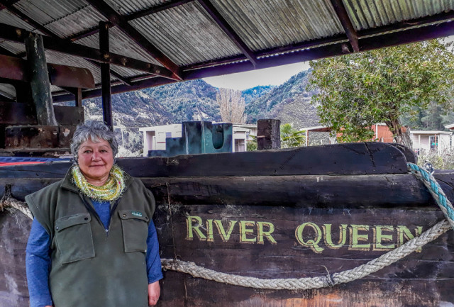 Marlene and the River Queen.