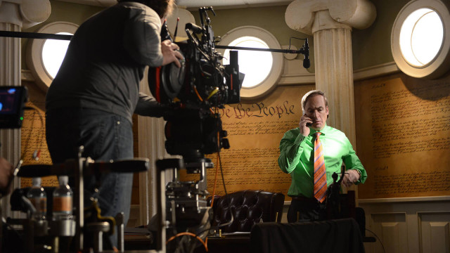 Lawyer Saul Goodman serves as legal advisor for Walter White.