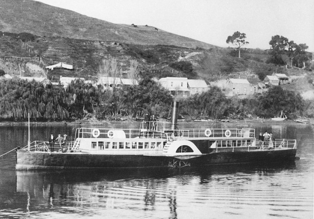 The Waimarie during its heyday. Not much has changed onboard since then (apart from the odd health & safety addition).