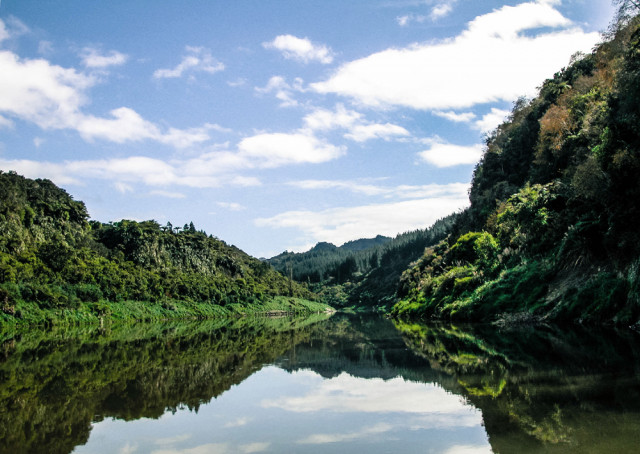 The Whanganui River has been given the status of a legal entity.