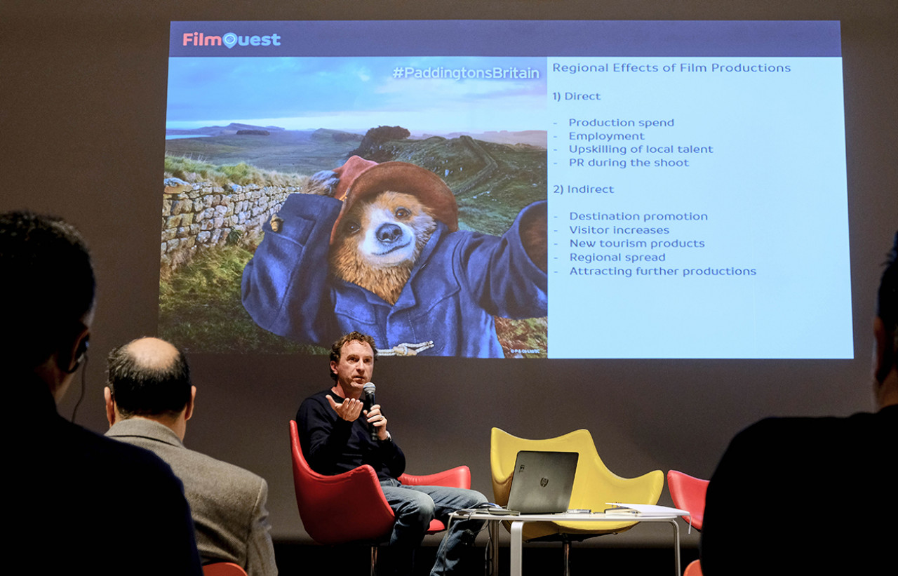 Talking film locations and tourism in Greece, with New York-based location manager Yorgo Stathopoulos and Game of Thrones location manager Tate Aráez Guzmán.