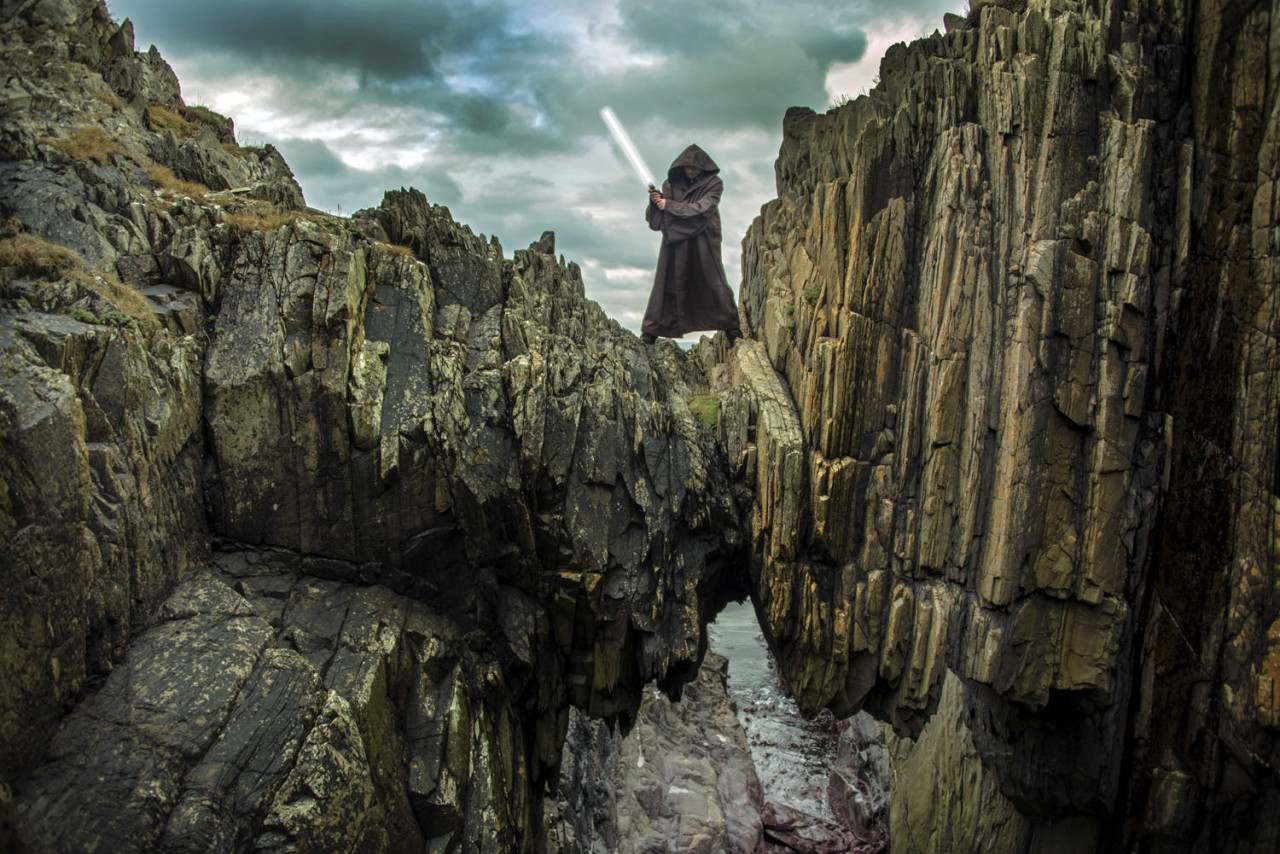 Creation of Star Wars location experiences in the Republic of Ireland.