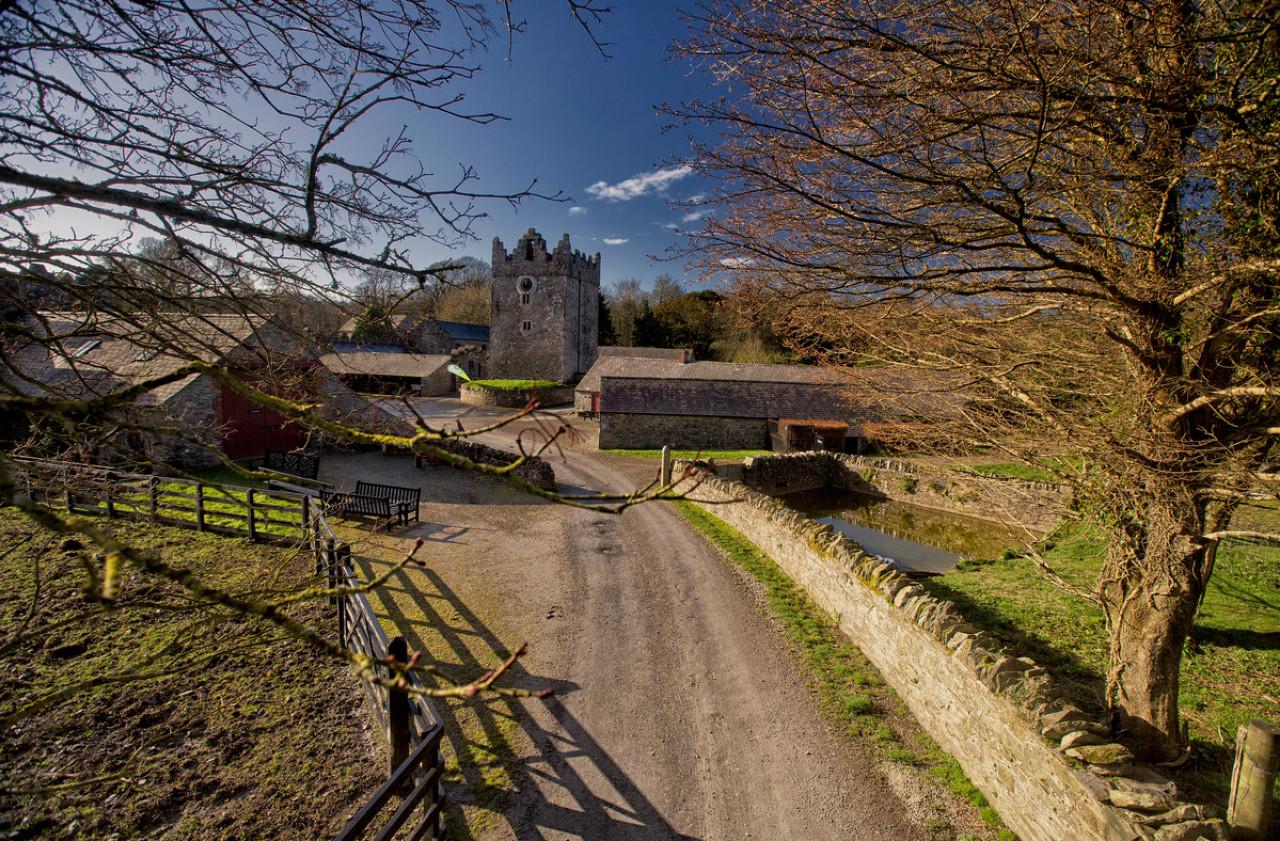 Welcome to Winterfell aka Old Castle Ward.