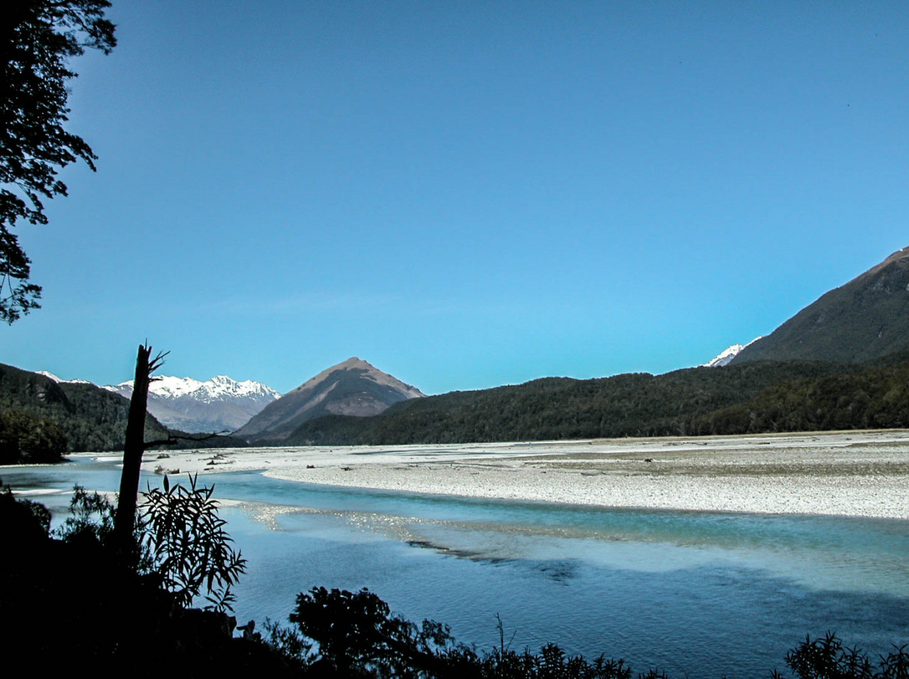 The Dart River.