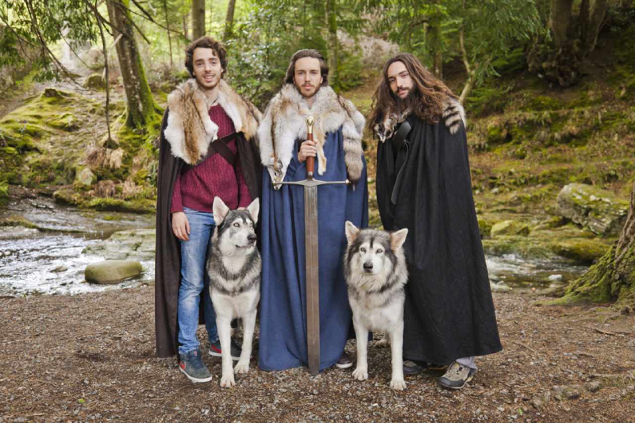 Where the Starks found the direwolf pups.