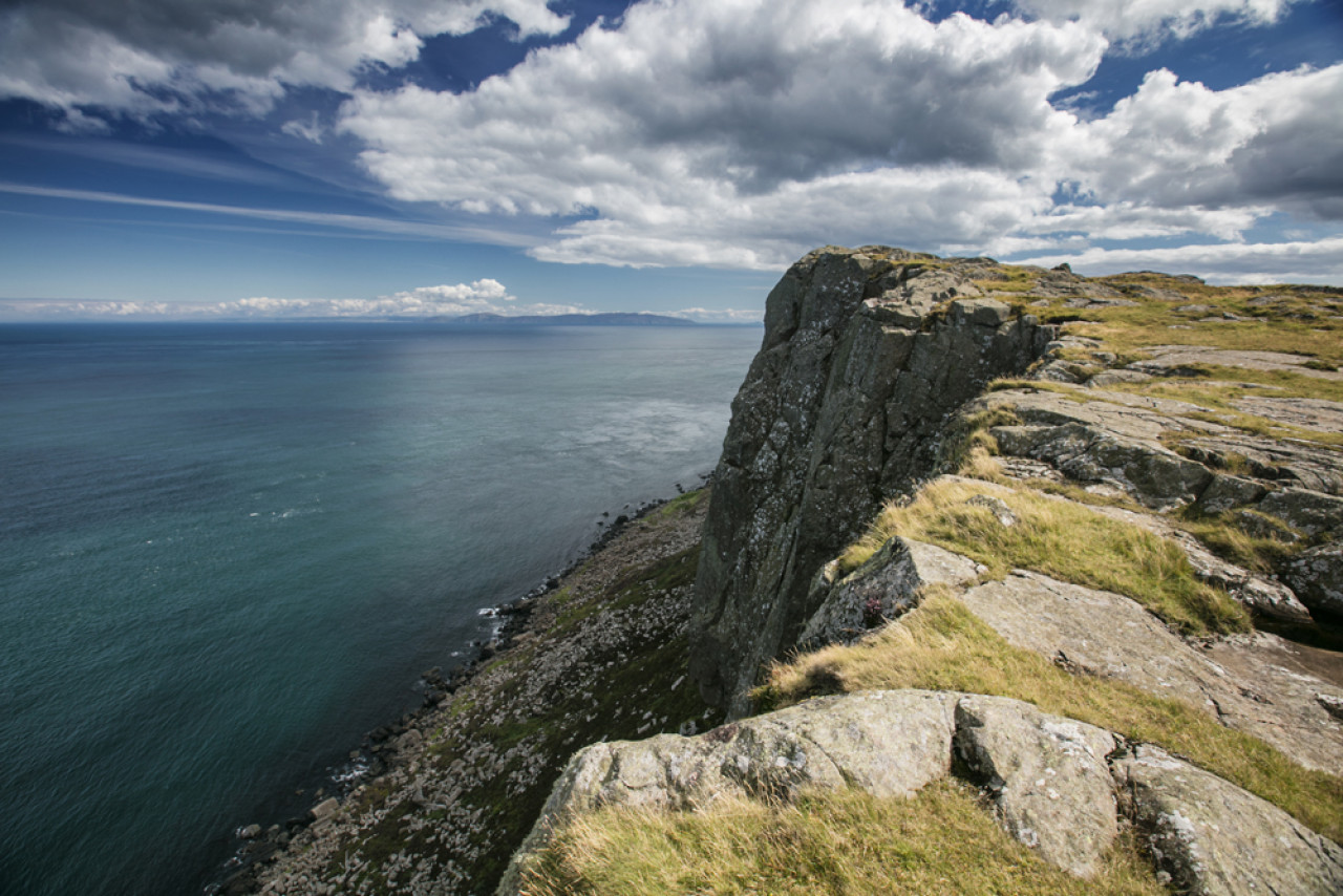 On a stunning day, the clifftops are the perfect setting for a picnic.