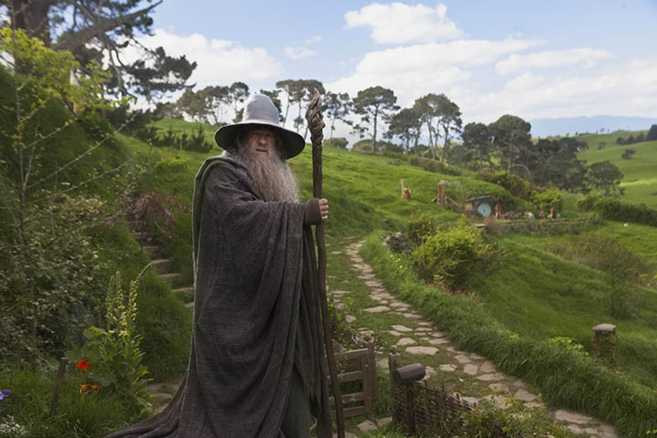 Gandalf the Grey used to be a regular visitor.