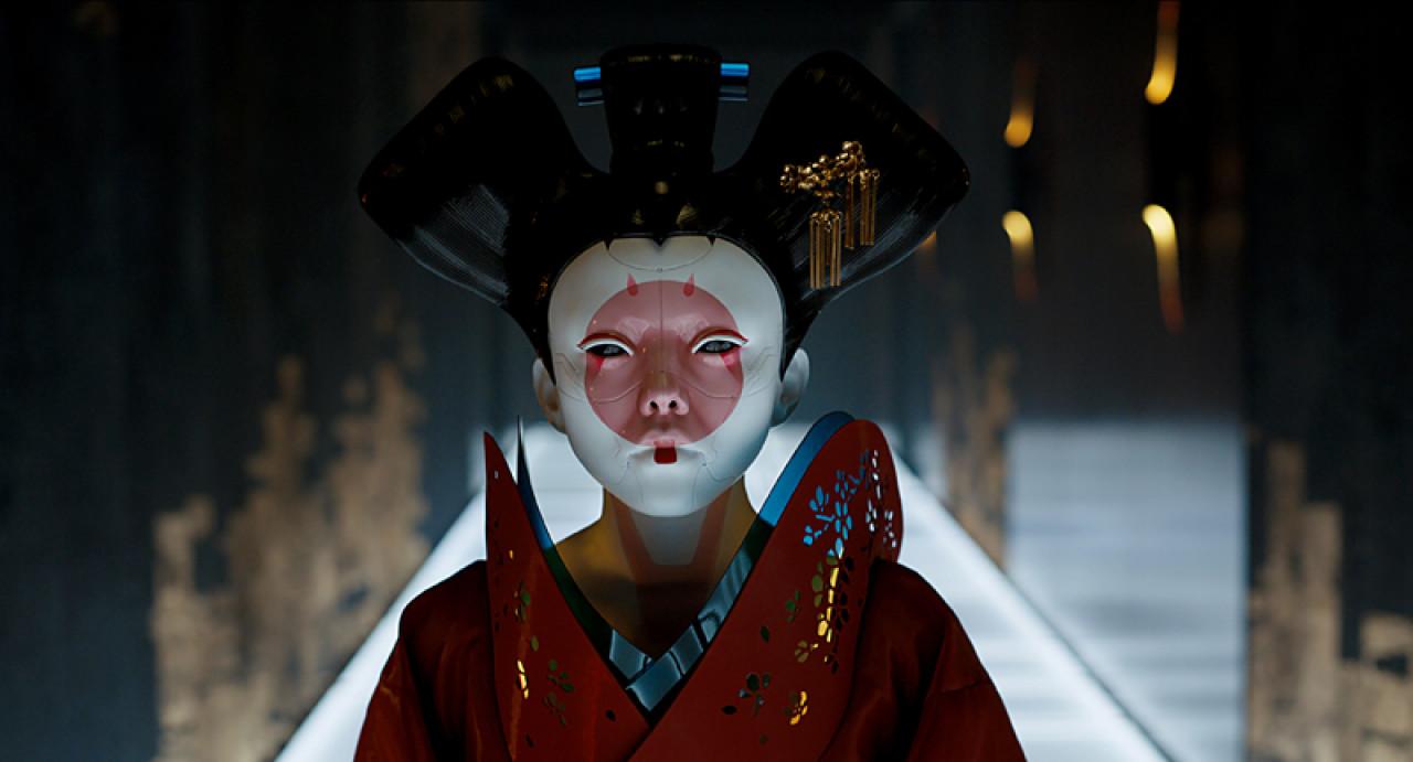 The killer geisha.