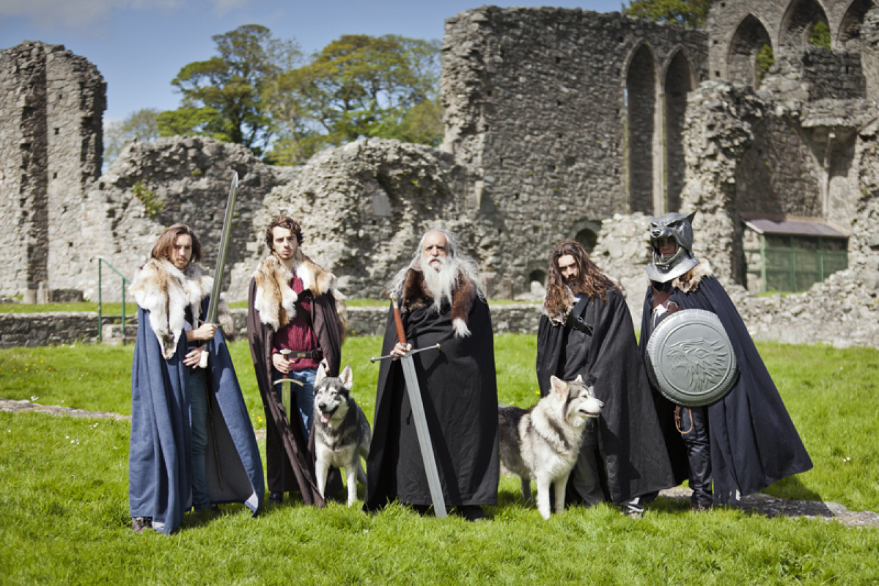 Inch Abbey: Here, Robb Stark became King in the North