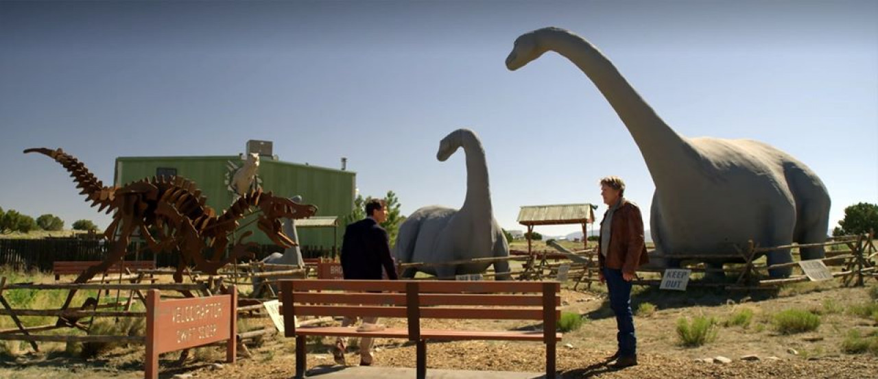 Walt, Vic and Shane Muldoon had a little showdown here in Season 6, Episode 8: Cowboy Bill.