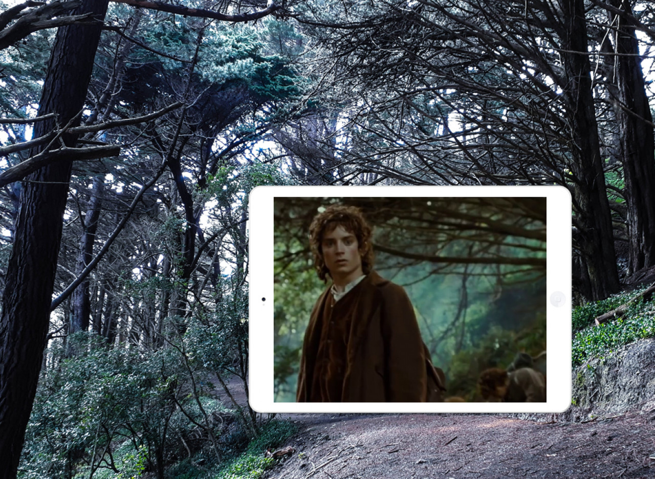 'Get off the Road!' Frodo and his Hobbit friends encounter the Nazgûl.