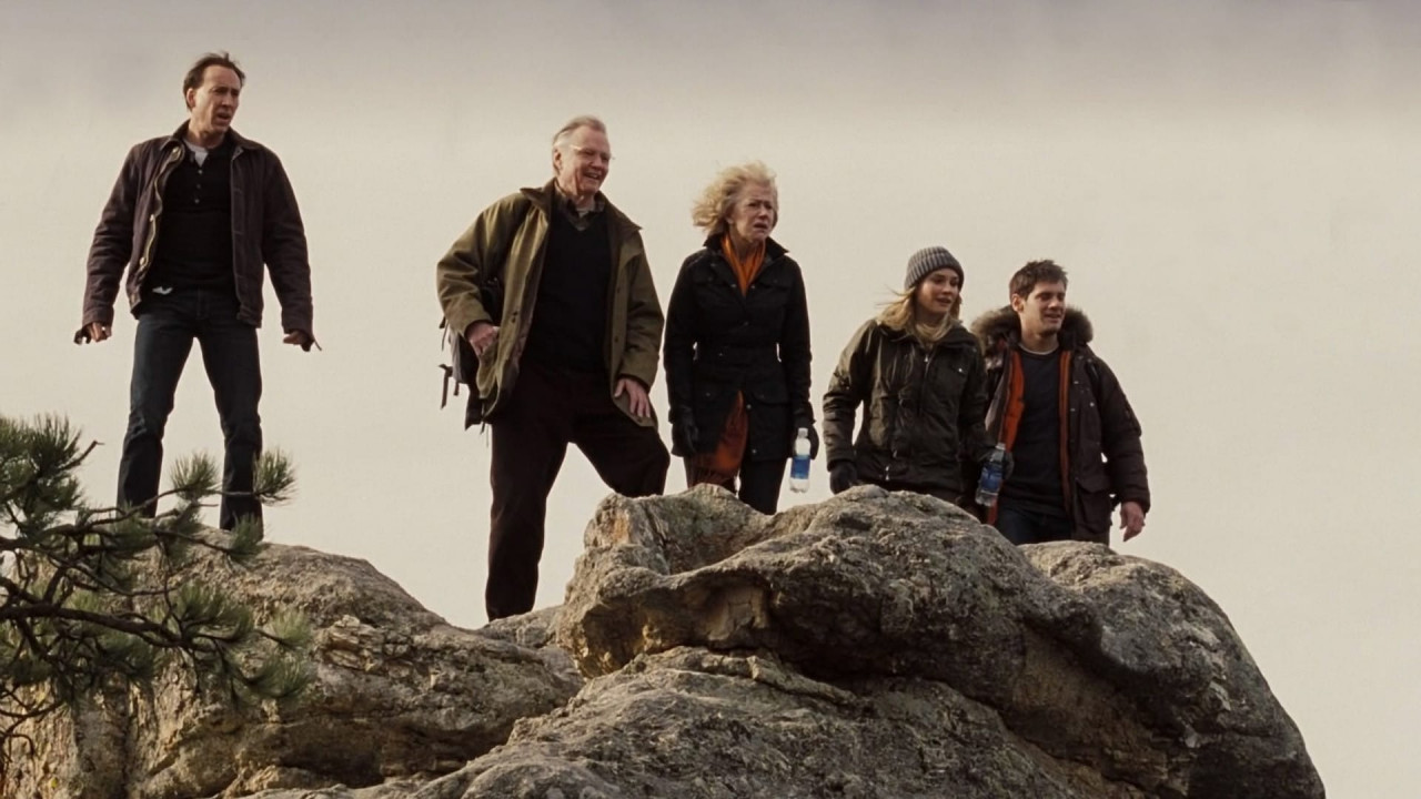 The actors at Lake Sylvan.
