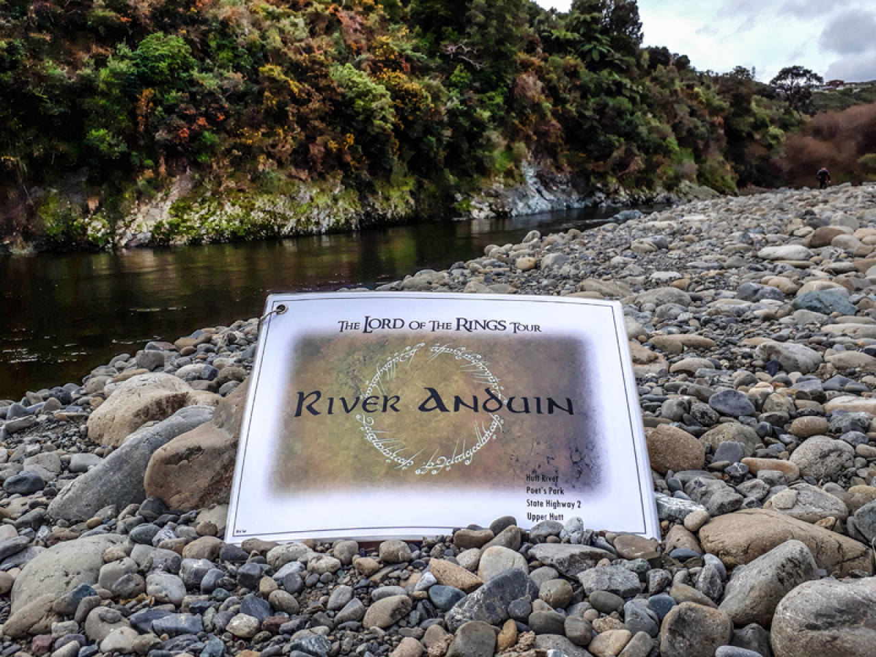 This small part of the Hutt River was used for some of the scenes in The Fellowship of the Ring, when the fellowship paddles down the mighty River Anduin.