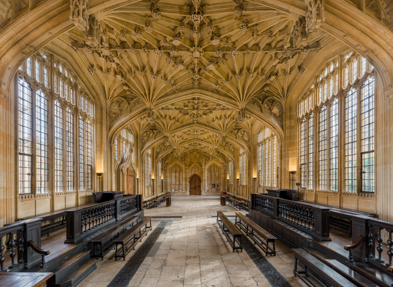The Divinity School stood in for the Hogwarts infirmary.