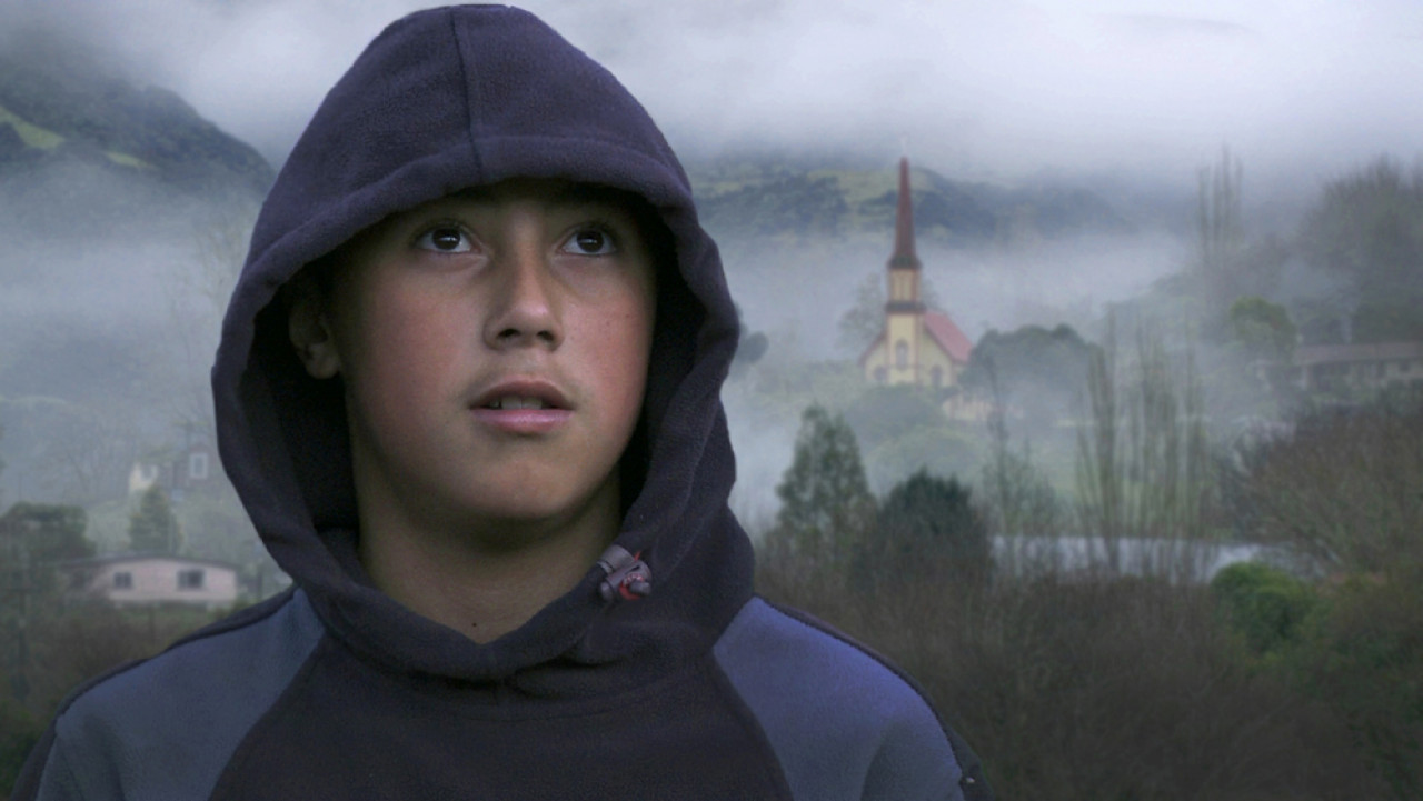 DJ, one of the local children who features in the film.