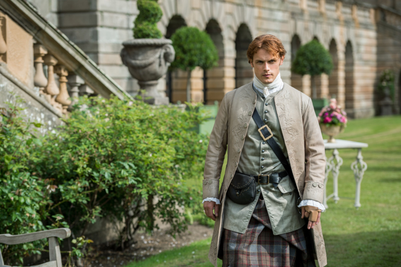 Jamie - looking dashing as ever.