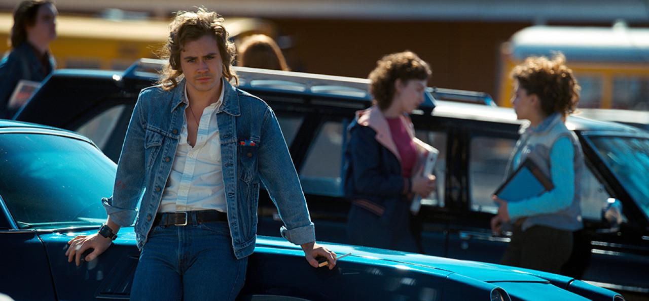 Billie enters the scene in Season 2 - driving his modifiedCamaro Z/28 into the school carpark.