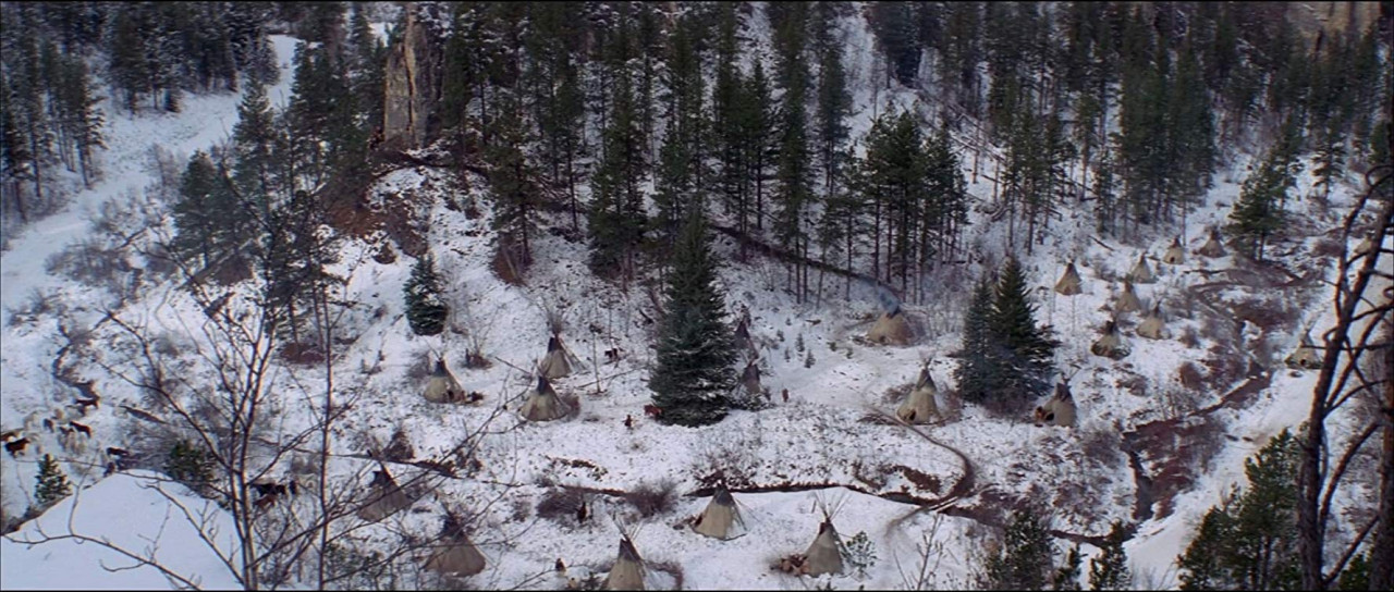 The winter camp in Spearfish Canyon.