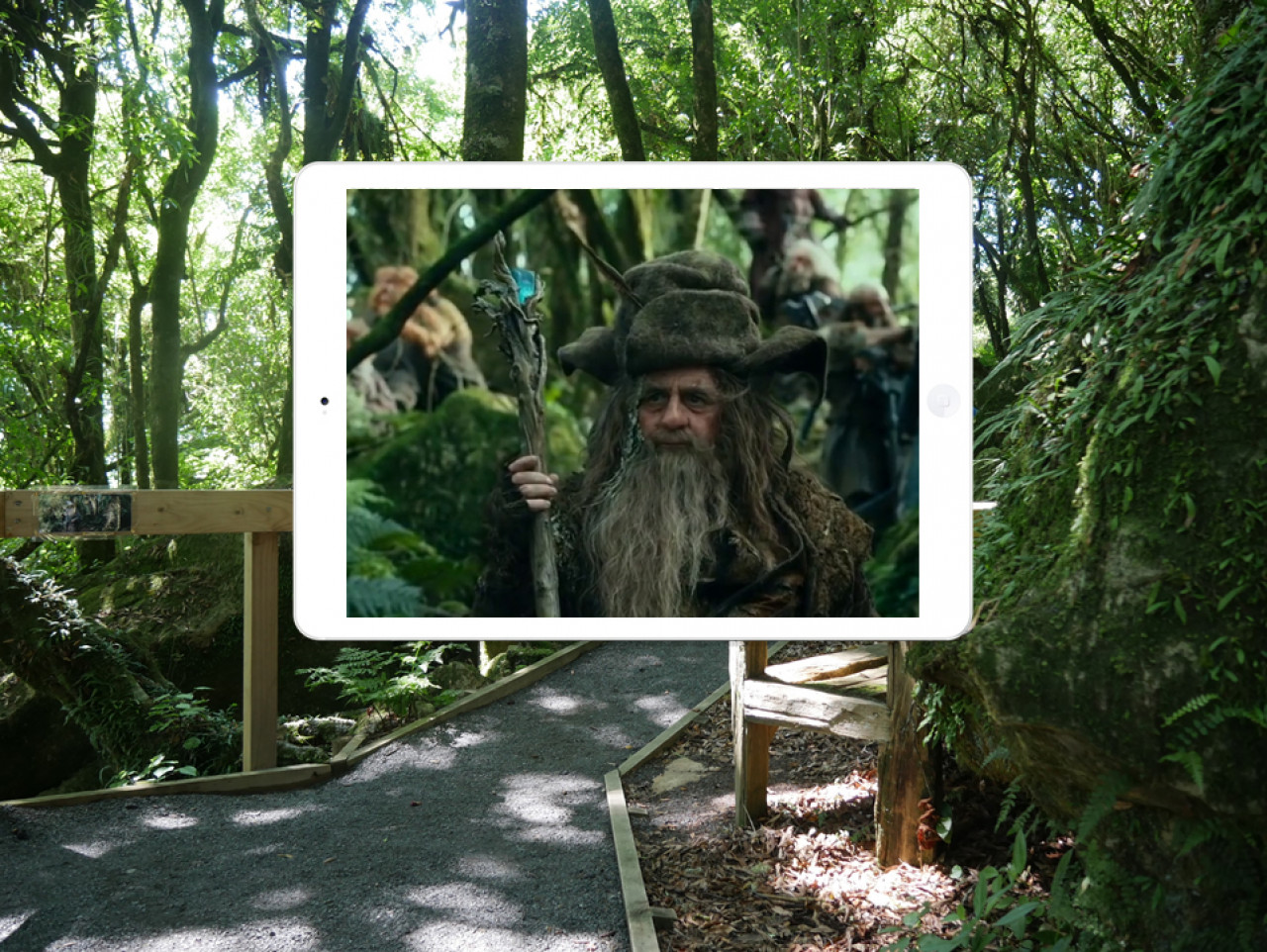 ... the wizard Radagast arrives, bringing bad news about a shadow of an ancient horror that has risen again.
