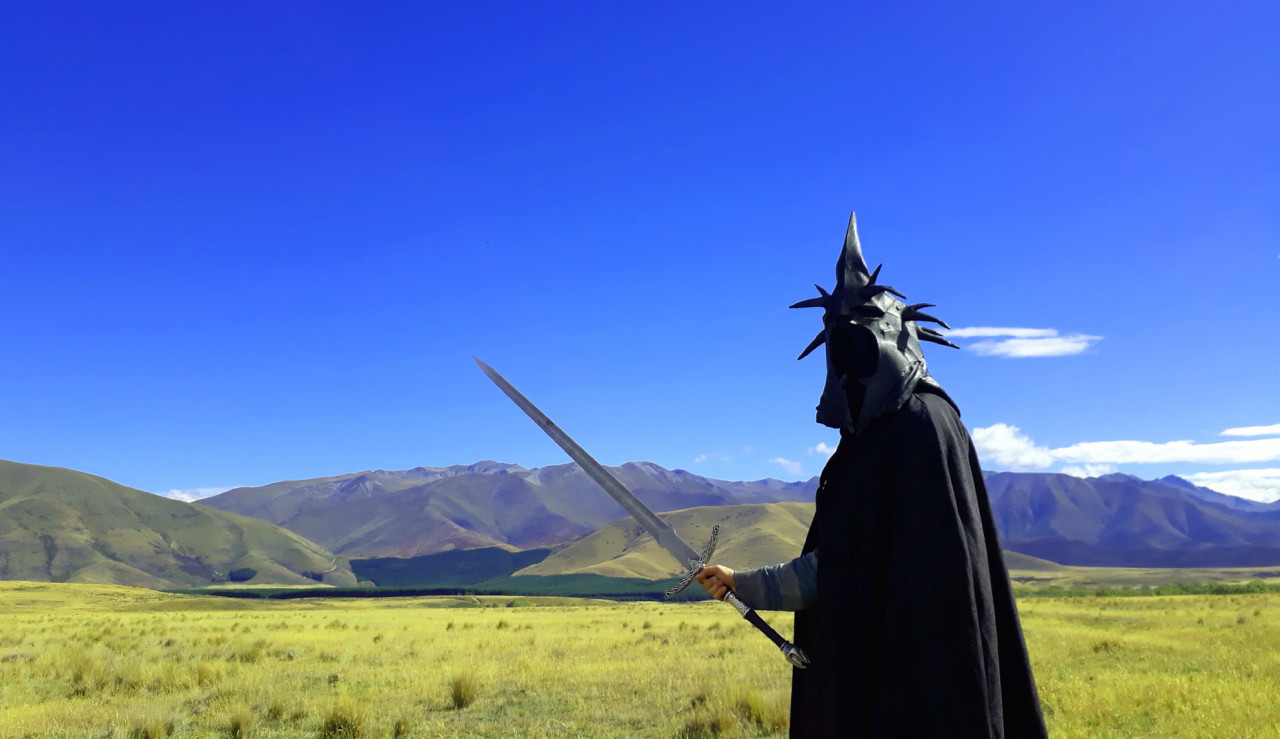 ... the Witch-king of Angmar approached.