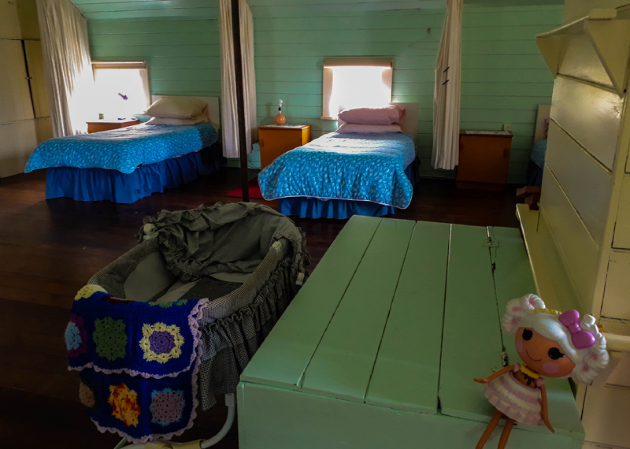 Accommodation is basic and consists of 20 single beds in open dormitories.