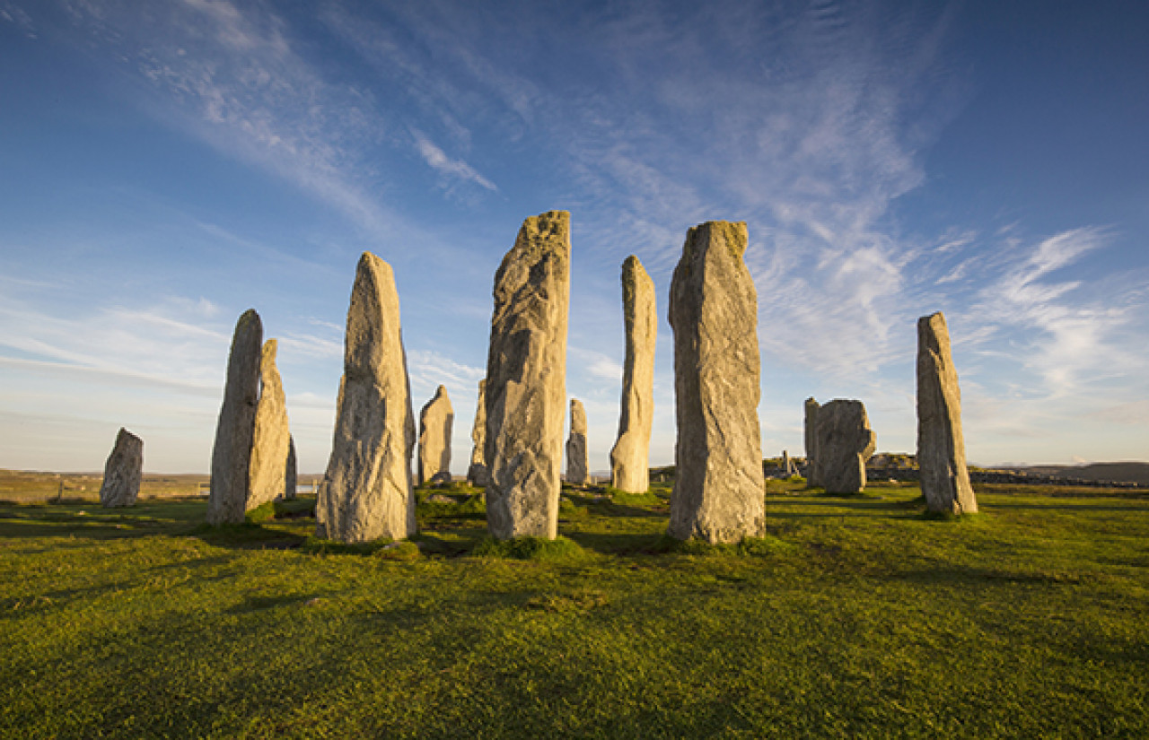 This near-perfect stone circle is 5,000 years old and provided the blueprint for Craigh Na Dun.