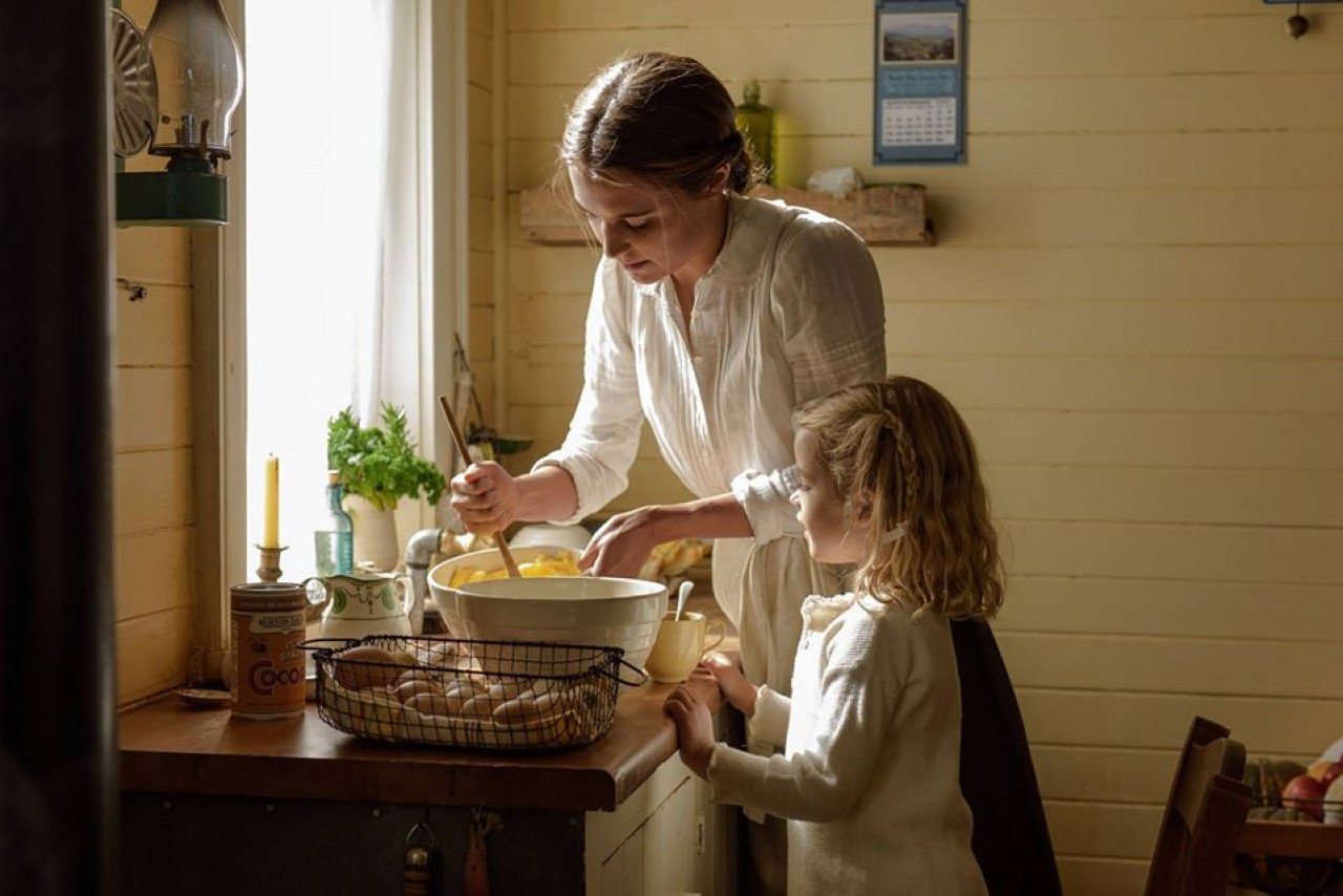 The kitchen looks just like this - minus the home baking of course.
