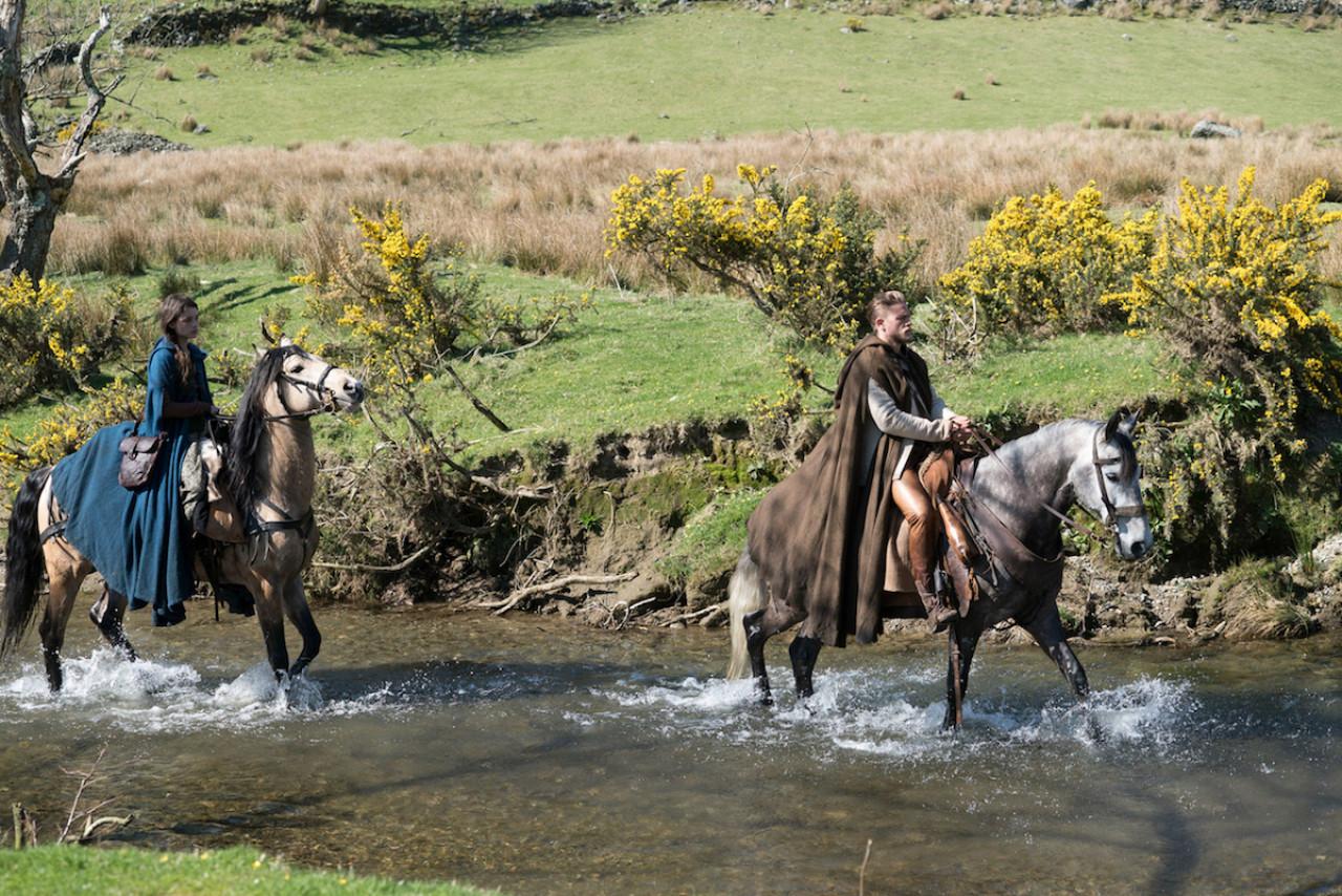 A scene filmed in Llyn Gwynant, Snowdonia, Wales.