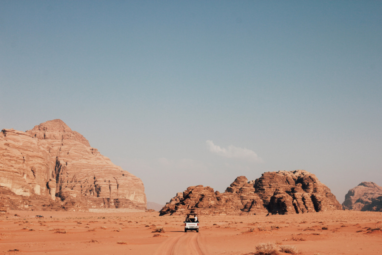 Wadi Rum is becoming increasingly popular, but unlike Petra it didn't feel touristy at all.