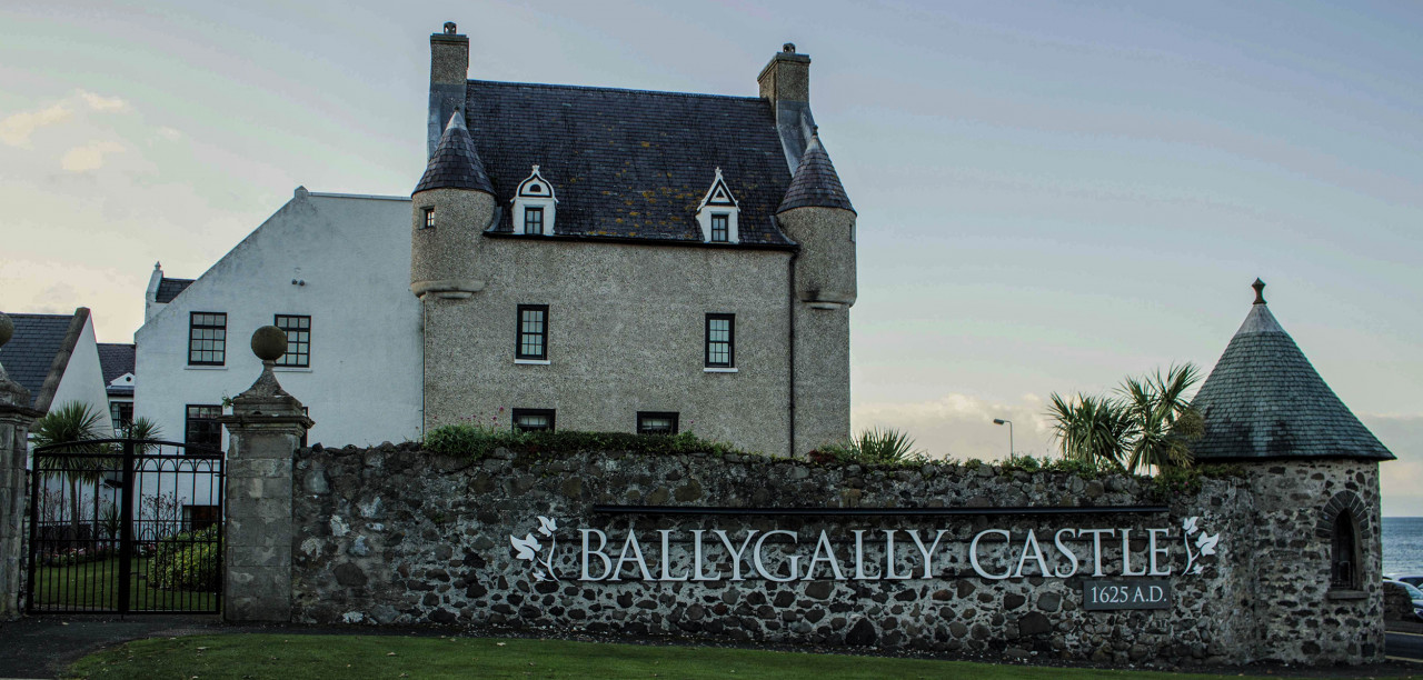 Despite its French chateau-style appearance, Ballygally Castle is a modern 4-star hotel.