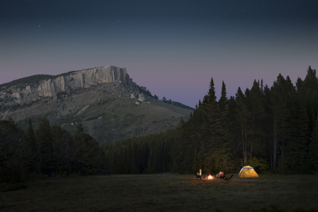 The Bighorn Mountains are the perfect retreat if you want to get away from it all.