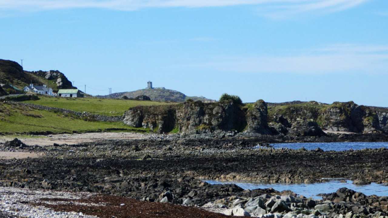 Esky Bay, Malin Head, a stop along the Ahch-To Way route.