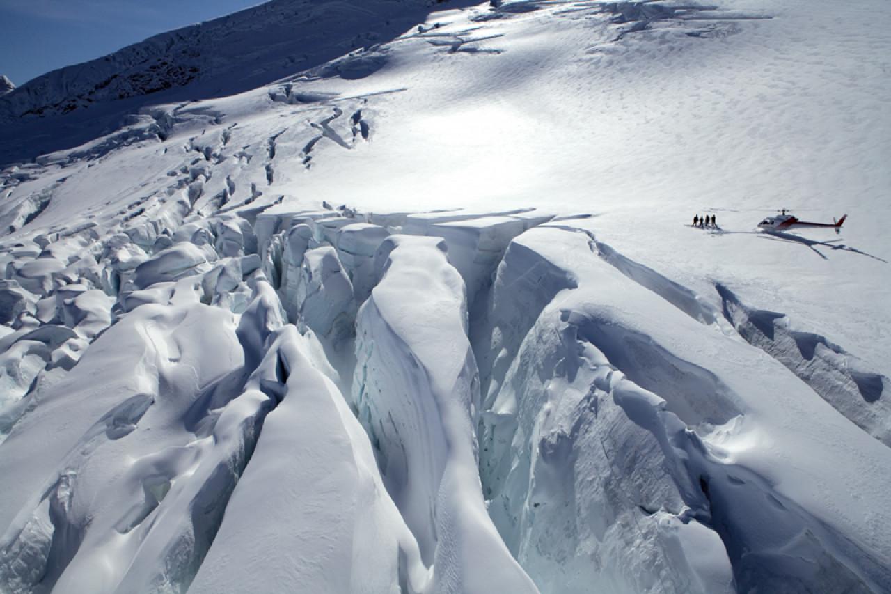 ...or Clarke Glacier.
