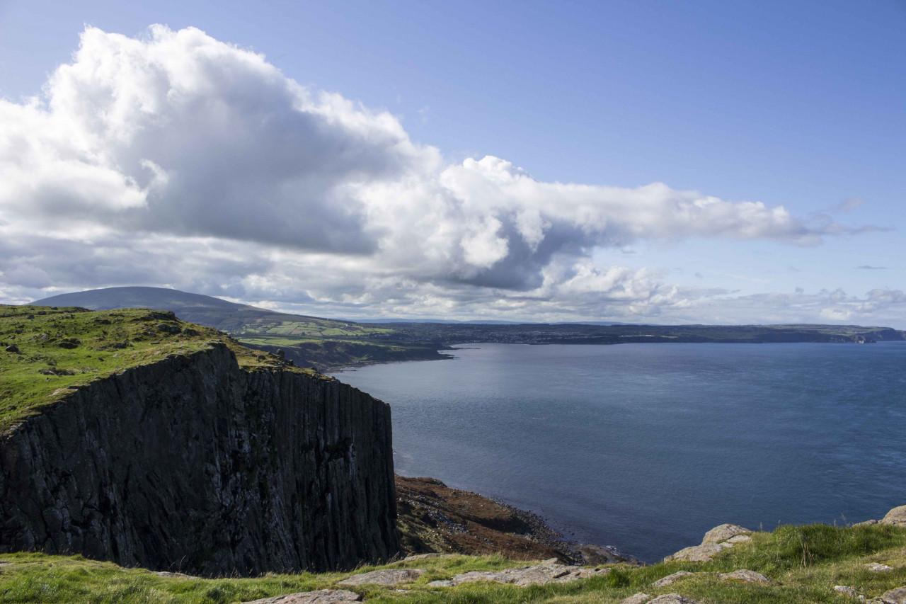 Fair Head - the cliffs above Dragonstone.