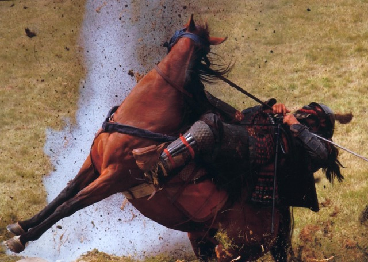 Horse action during the final battle.