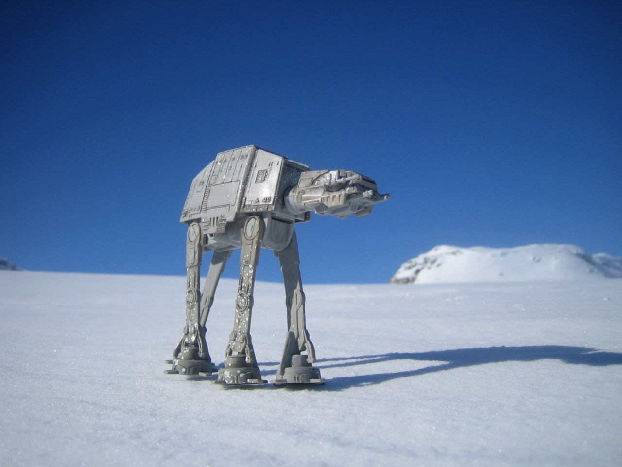 The Hardangerjokulen Glacier in Norway was the setting for the Battle of Hoth in The Empire Strikes Back, one of the fan's most beloved Star Wars sequences.