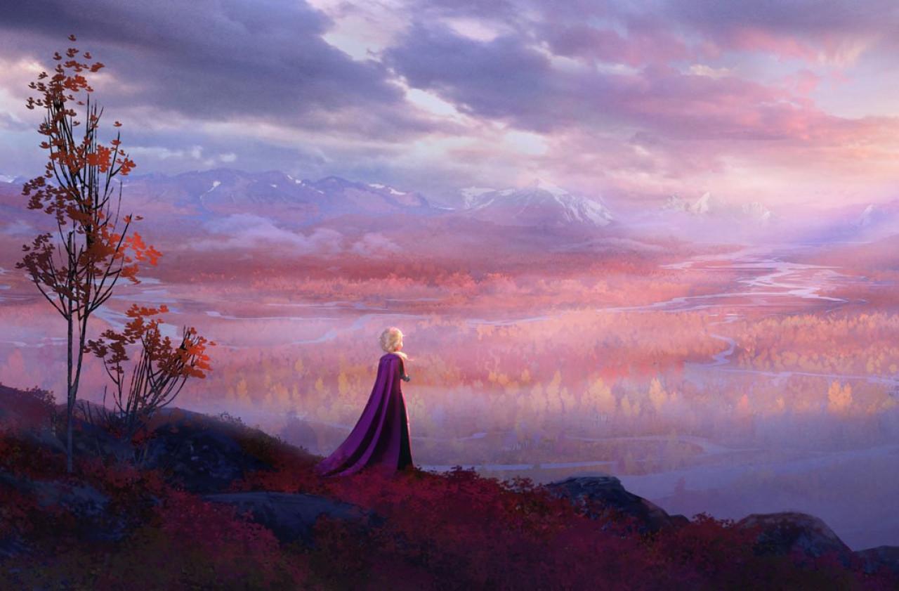Elsa, north of Arendelle.