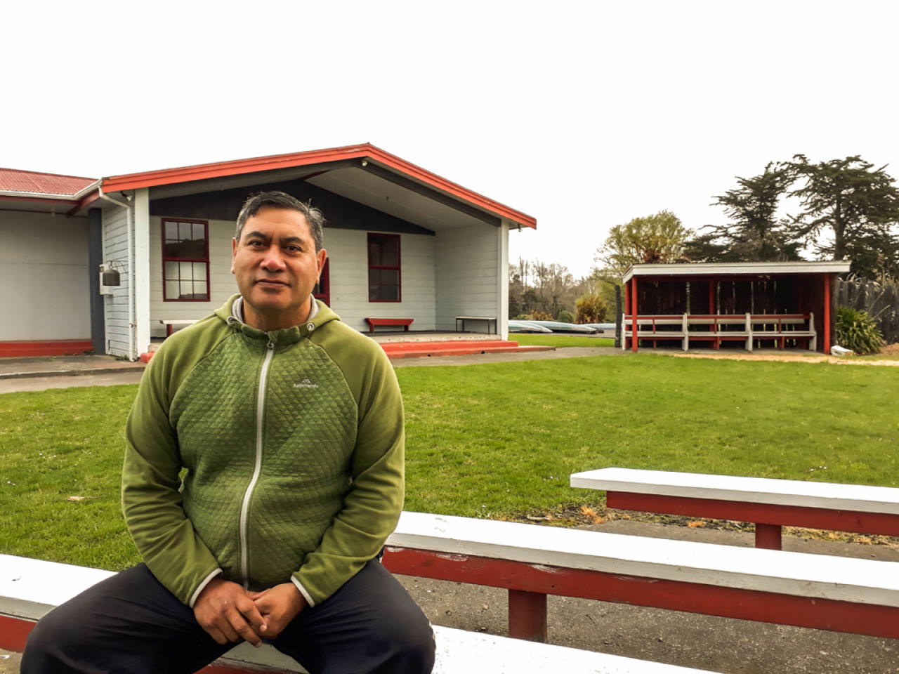 Geoffrey Hipango at Te Ao Hou Marae in Whanganui. If you book a guided kayak tour with his nephew Ash, you will be treated to an overnight stay in the Marae which is a very unique experience and only possible by special invitation from a member of the resident iwi (tribe).