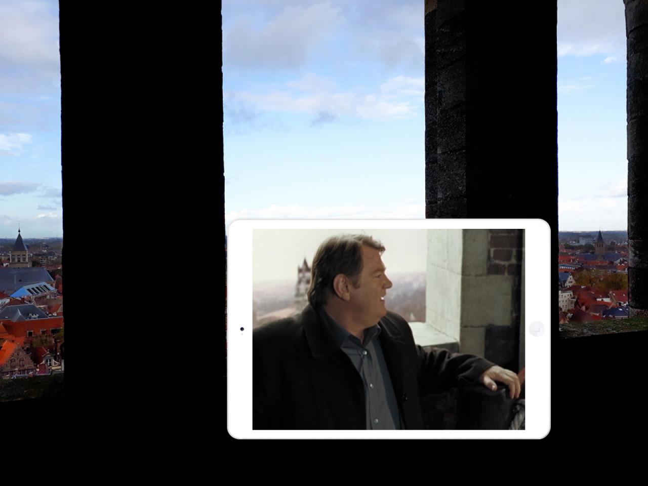 While Ken admires the views...