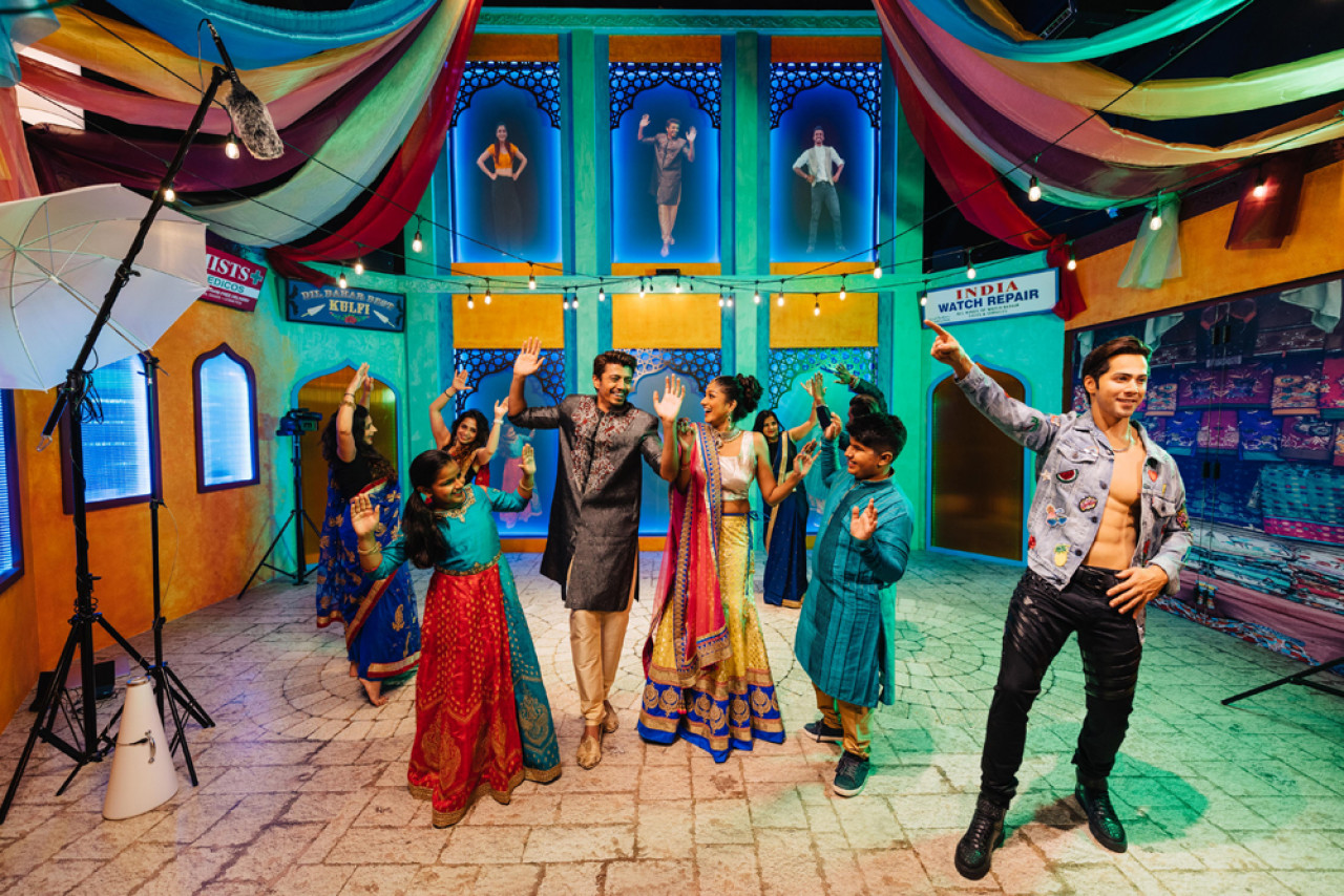Dance alongside superstars of Indian Cinema at Madame Tussauds Singapore.