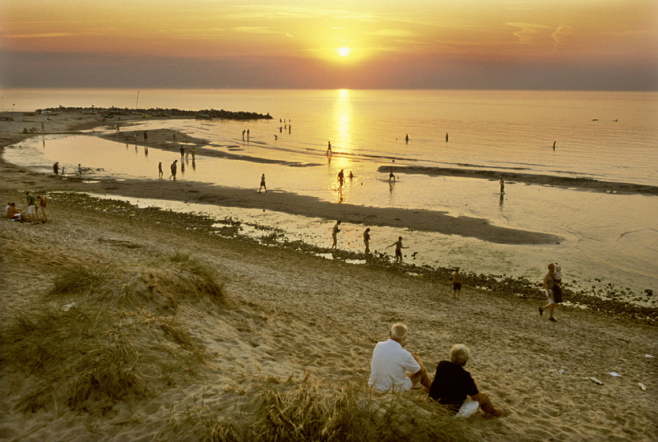...Skagen is Denmark's northernmost pointwhere the Skagerrak and Kattegat seas meet. Here the trolls would have a great time playing on the beach.