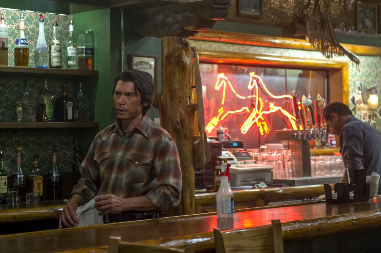 The Red Pony Bar & Grill is run by Walt's friend Henry Standing Bear (Netflix).